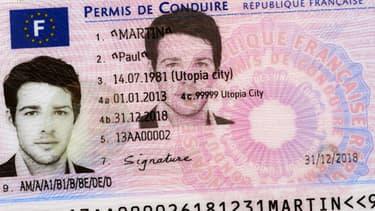 Equipé d'une puce électronique au verso, le permis de conduire sécurisé prendra le format d'une carte de crédit.