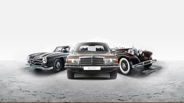 La marque allemande se lance dans la vente de voitures de collection. Un service supervisé par les experts du musée Mercedes-Benz à Stuttgart.