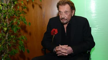 Johnny Hallyday en avril 2016 à West Hollywood