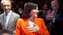 Anne Hidalgo a tenu mardi soir son premier meeting de campagne, en vue des municipales de 2014.