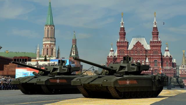 Le couple de Français est invité à la grande parade du 9 mai, sur la Place Rouge, à Moscou.