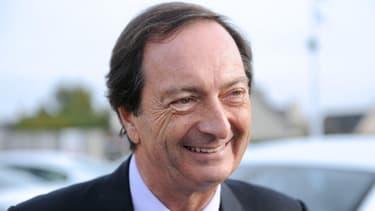 Michel-Edouard Leclerc s'est défendu d'encourager l'exil fiscal, ce jeudi 27 décembre.