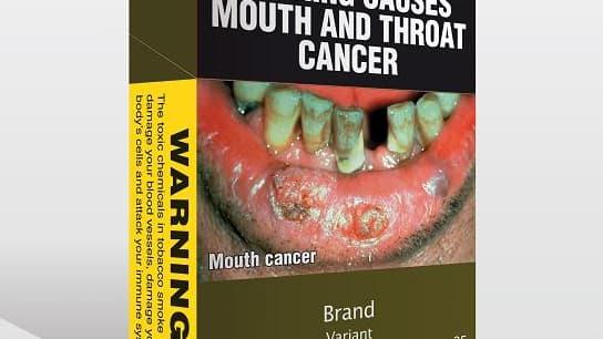 Les paquets de tabac australiens auront tous cette forme.