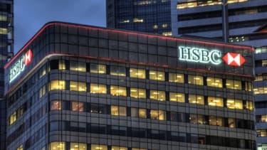 La banque HSBC va arrêter la gestion des comptes de certaines ambassades.