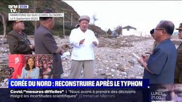 Corée du Nord: Kim Jong-Un lance un appel pour reconstruire le pays après le passage d'un typhon