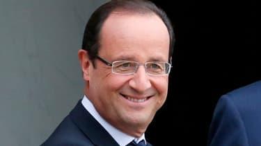 Le chef de l'Etat François Hollande