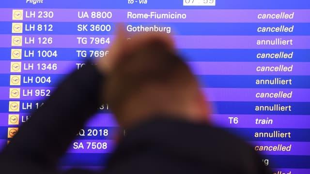 La grève des pilotes se poursuit chez Lufthansa.