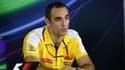 Cyril Abiteboul, le directeur de Renault F1