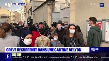 Lyon : à l'école Jean-Pierre Veyet, grève récurrente à la cantine