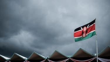 Le drapeau kényan