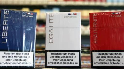 Les Français ne pourraient ainsi plus ramener autant de cigarettes venant d'un pays européen, comme ici l'Allemagne.