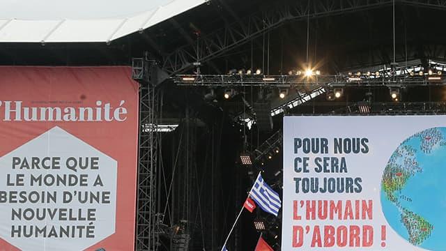 Le discours de clôture de la fête de l'humanité l'an dernier, en 2015.