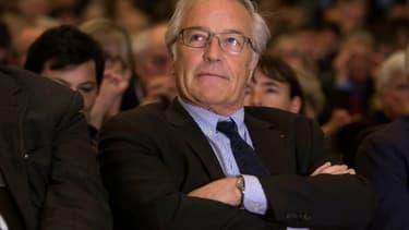 Francois Rebsamen en avril 2016