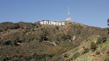 Le panneau Hollywood, en 2005