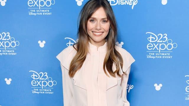 Elizabeth Olsen en août 2019