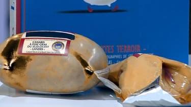 Foie gras de canard.