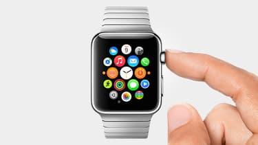 Photo publiée par Apple lors de la présentation de l'Apple Watch à Cupertino, ce mardi.