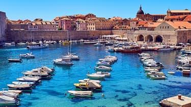Port de Dubrovnik Croatie