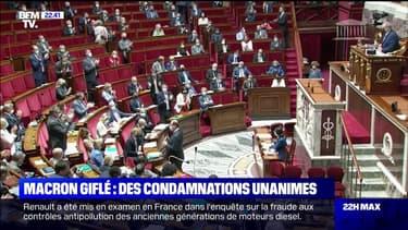 La classe politique condamne unanimement la gifle à l'encontre d'Emmanuel Macron