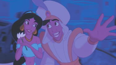 Aladdin et Jasmine n'ont pas eu besoin du site de rencontres Mouse Mingle pour se rencontrer. Leurs fans peut-être.
