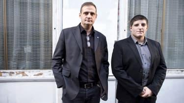 Yvan Benedetti (à gauche) et Alexandre Gabriac (à droite)
