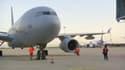 Le 3e avions en provenance d'Abou Dabi avec à son bord des rapatriés français et afghans est arrivé à Paris