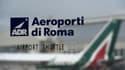 Une fenêtre à l'aéroport de Rome (photo d'illustration)