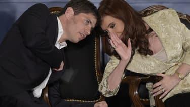 Axel Kicillof et Cristina Kirchner tentent de résoudre le conflit avec les Etats-Unis