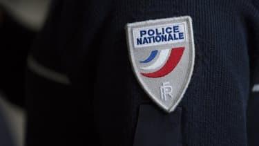Un écusson de la police nationale (Photo d'illustration)