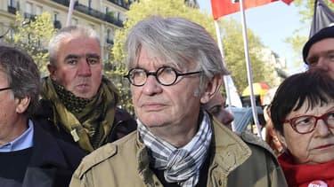 Le numéro un de Force ouvrière, Jean-Claude Mailly, le 19 mai 2016.