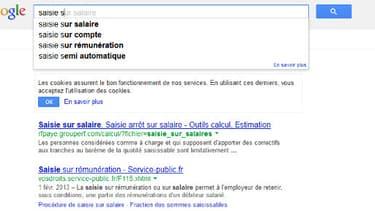 La justice allemande reproche à Google la fonction de saisie semi-automatique.