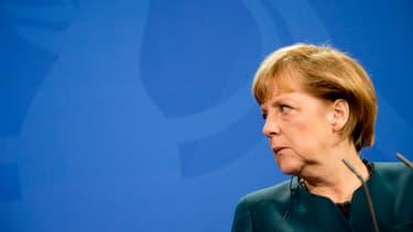 La chancellière allemande Angela Merkel, le 16 avril 2013.