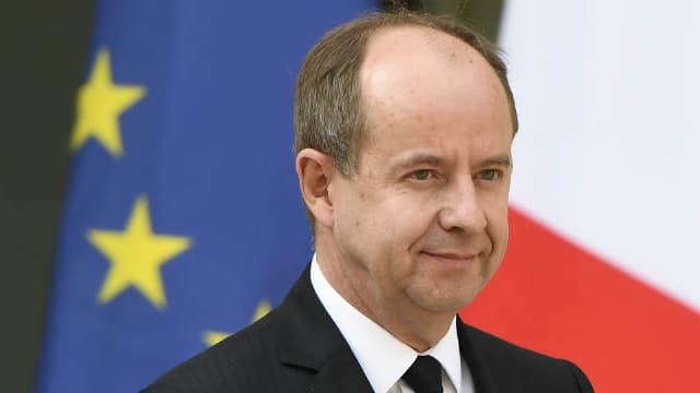 Le ministre de la Justice Jean-Jacques Urvoas à la sortie de l'Elysée, le 5 avril 2017.