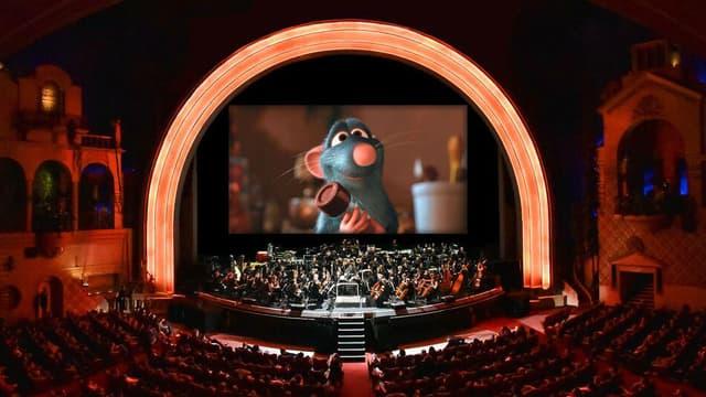 """Quatre représentations du ciné-concert de """"Ratatouille"""" se tiendront au Grand Rex à Paris les 17 et 18 octobre prochain."""
