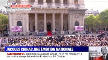 Des milliers de français ont rendu hommage à Jacques Chirac pour cette journée de deuil national