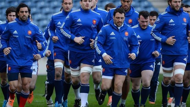 Le XV de France en quête de rachat en Ecosse