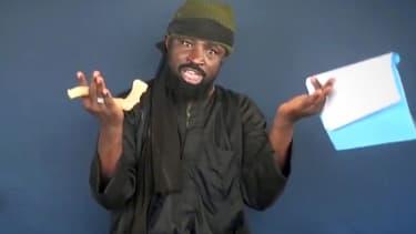 Abubakar Shekau, dans une vidéo, le 18 février 2015.