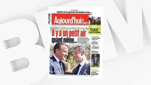 """La une du """"Parisien - Aujourd'hui en France"""" du 8 juillet 2020."""