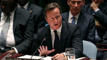 David Cameron a plaidé en faveur d'une intervention britannique, mercredi soir, à l'ONU (New York).