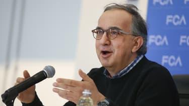 Sergio Marchionne est le PDG de Fiat Chrysler Automobiles