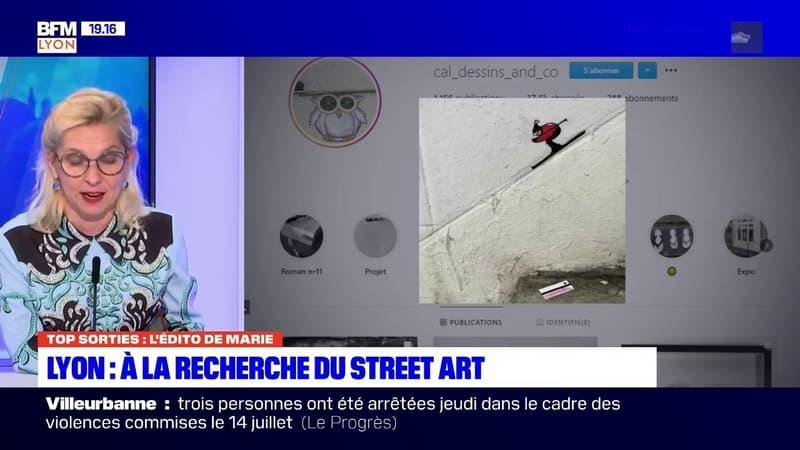 A Lyon, à la découverte des œuvres éphémères de la street-artiste CAL