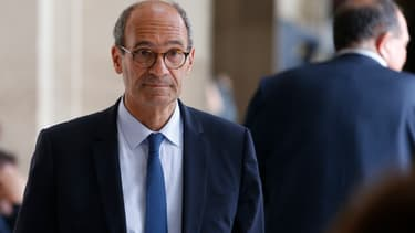 Le député Les Républicains Eric Woerth, le 11 juillet 2017 à Paris.