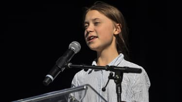 Greta Thunberg au Canada ce vendredi.