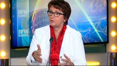 Christiane Lambert, la présidente de la FNSEA, était l'invitée de BFM Business ce jeudi.