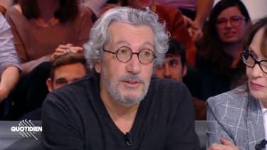 Alain Chabat sur le plateau de Quotidien jeudi 14 novembre.