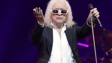 Michel Polnareff, en concert à Epernay le 30 avril 2016.