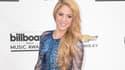 Shakira aux Billboard Awards en mai 2014.