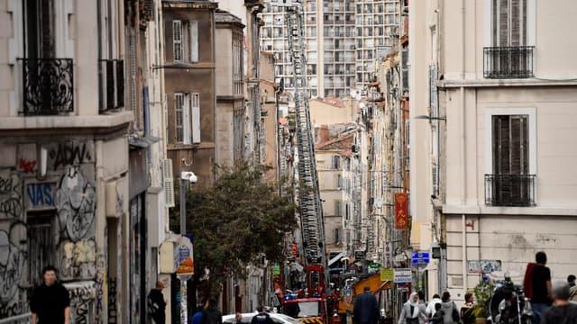 Le drame de la rue d'Aubagne le 5 novembre 2018.