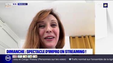 Paris Go : Spectacle d'impro en streaming au Grand Point Virgule dimanche - 08/05