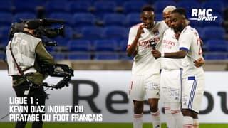 Ligue 1 : Kevin Diaz inquiet du piratage du foot français